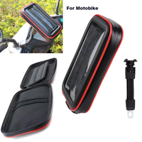 Touch Screen Bicycle Motocycle Bike Mobile Phone Holders Case Bags For IPhone 8 Plus ZTE Tempo