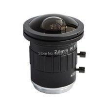 8.0 megapíxeles fija CS HD CCTV lente gran angular cámara 2.5 mm para 4 K cámara envío gratis