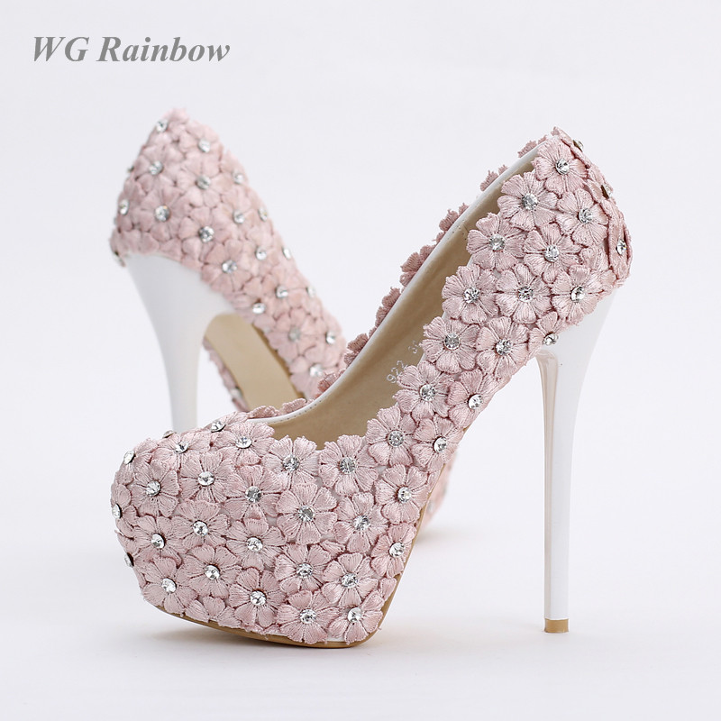 Popular Pink Bling Heels-Buy Cheap Pink Bling Heels lots from