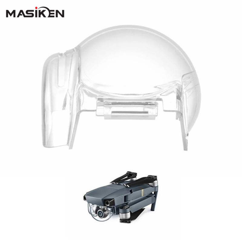 MASiKEN Gimbal Hood Cap Cover Camera Protector Case For DJI Mavic Pro Drone Quadcopter Clear Sleeve Drone Protective Accessories