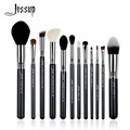 12Pcs High Quality Pro Makeup Brush Set Kabuki Foundation Contour EyeShader Blend  Brow Powder Make Up Brushes Tool T128