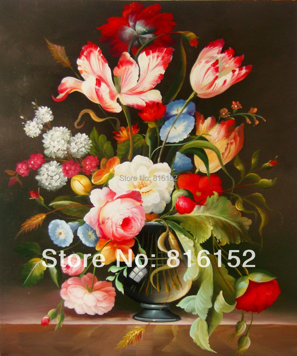 Famous Flower Oil Painting | www.pixshark.com - Images ...