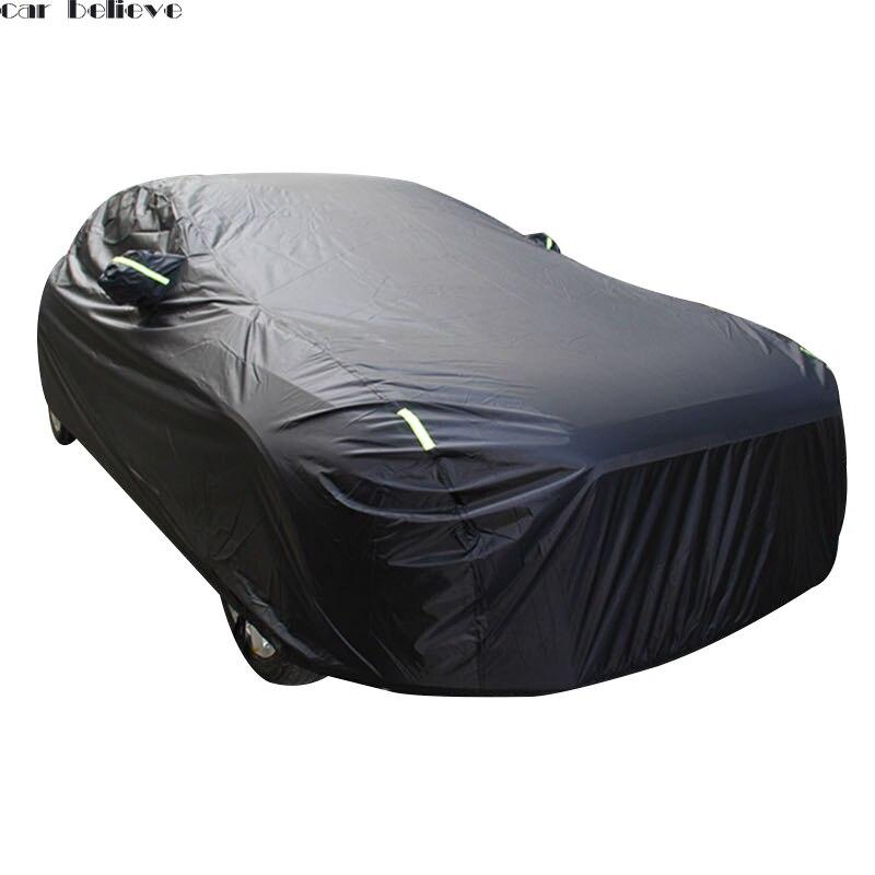 Bâches de voiture imperméable parapluie pare-soleil funda coche pour peugeot 508 607 passat b5 ix25 tesla modèle voiture rideau rétractable