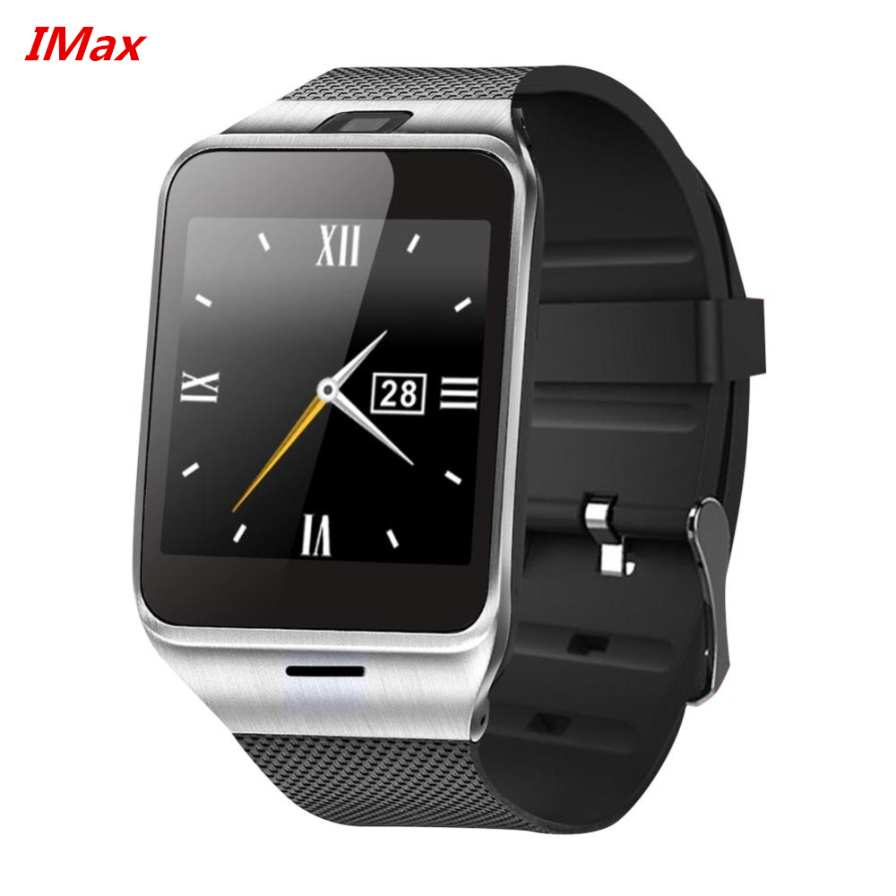HOT selling GV18 Aplus smart watch phone camera pedometer font b smartwatch b font 450mAh for