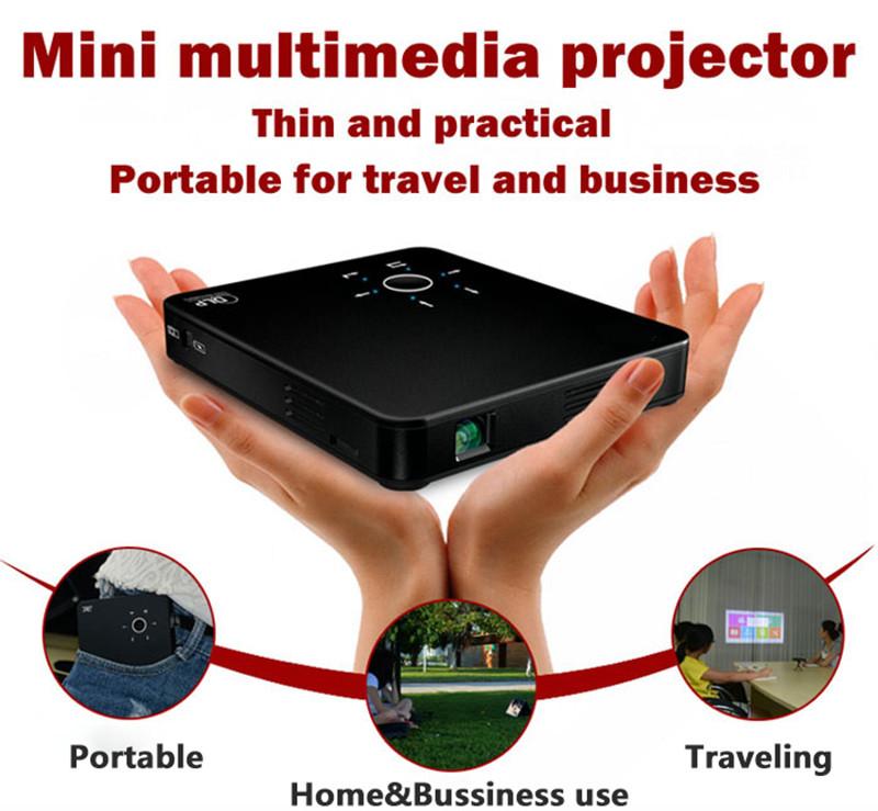 Mini Portable Smart 3D Projector