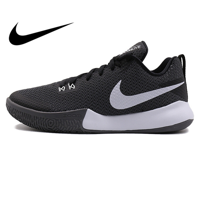 cheap for discount d9bf8 4c6ea Original 2018 NIKE ZOOM LIVE II EP Men s Basketball Shoes Lace-up High-cut  Breathable Comfortable Wear resistant Sneakers AH7567