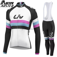 2018 Winter Thermal Fleece Cycling Jersey Ropa Ciclismo Mtb Long Sleeve Women Bike Wear ALE Clothing цены онлайн