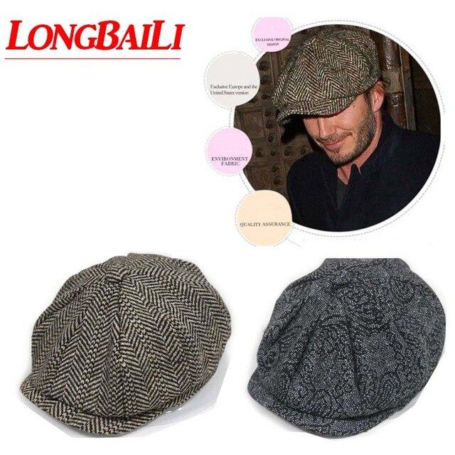 Invierno Mens Newsboy sombreros boinas ocasionales al aire libre ...