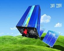 Инверсор де onda синусоидальной pura 2500 Вт инвертор чистой синусоиды DC 12 В AC 220 В солнечный / ветра / автомобиль / аккумулятор инвертор
