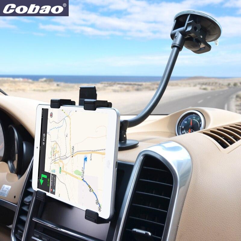Cobao universal-handyhalterung ständer flexible zubehör auto halterung für 7 8 zoll tablet PC Ipad mini Iphone 6 7 plus
