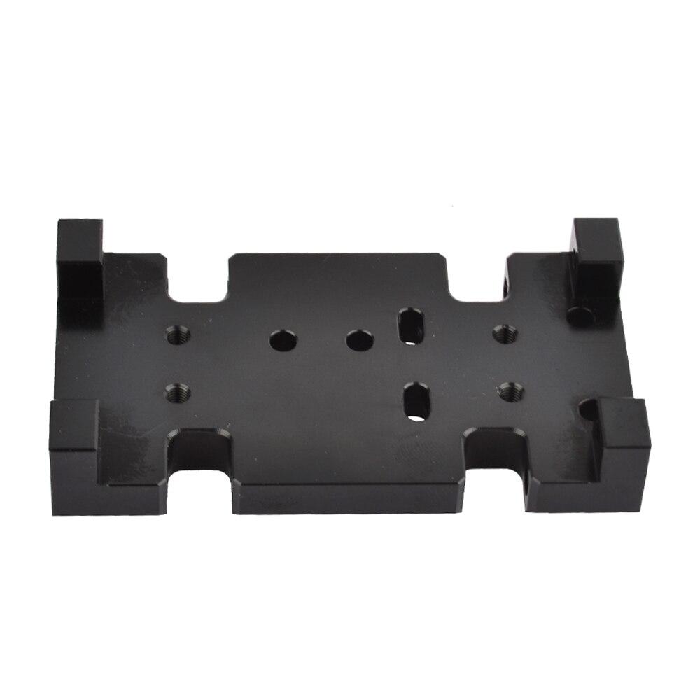 RC 73mm transferencia caso soporte para axial AX10 d90 d110 HSP transmisión caso 1:10 Crawler upgrade parts