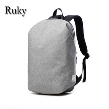 15.6 Inch Laptop Computer Backpack Canvas Men's Back Pack Mochila Business Travel College Student School Bags Casual Rucksacks