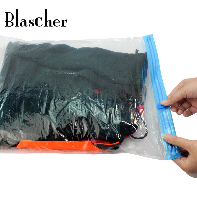 One Piece Travel Accesories Packing Organizer Bags Vacuum Compression Bags Travel Sorting Clothes Holding Bag Four Sizes HMW28