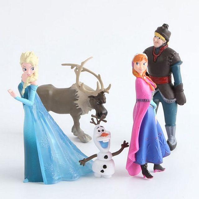 Disney Frozen Cake Toppers (5 Piece Set)