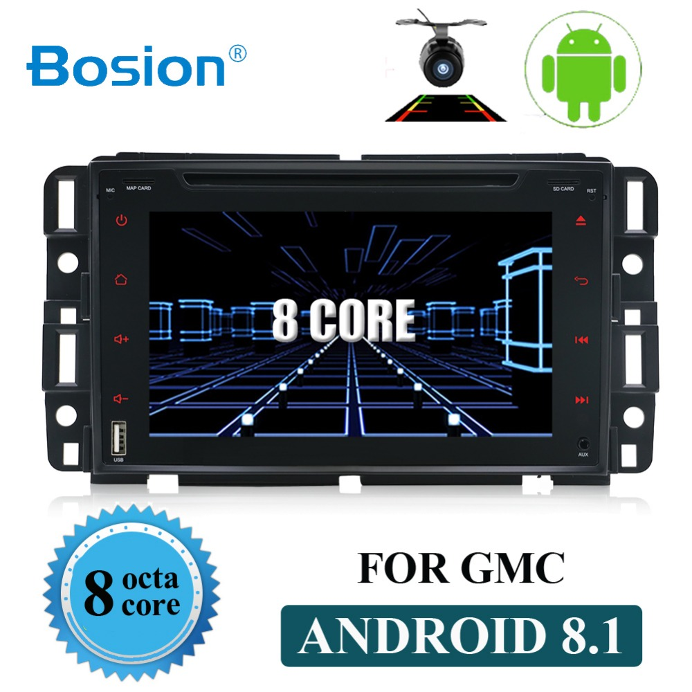 2 din 8.1 Android Car Radio Stereo Audio GPS Navigation For Chevrolet/Traverse/Tahoe/Suburban/GMC 2din Car DVD Multimedia player