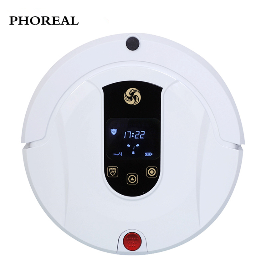 PHOREAL FR-802 robot vacuum cleaner 1200pa suction Planned Type vacuum cleaner Automatic recharge robot vacuum cleaner for home multifunctional intelligent robotic vacuum cleaner for home big suction nozzle remote control planned cleaning route fr e
