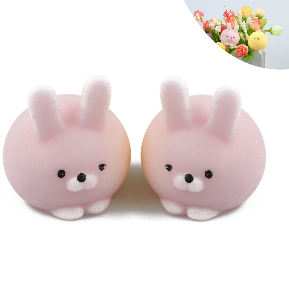 Luggage & Bags Cat Squishy Slow Rising Kawaii Mini Mochi Bunny Bag Accessories Strap Squeeze Stretchy Cute Pendant Kids Toy Gift 1 Pcs