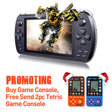 JXD S5800 5-inch 3G Quad Core Phone Game Console Smart Game Console Phone Tablet PC TV Box handle console Black Game player