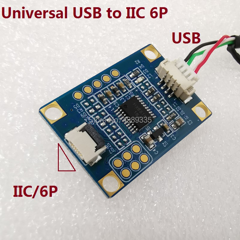 Capacitive Touch Control Card IIC (I2C) To USB Universal