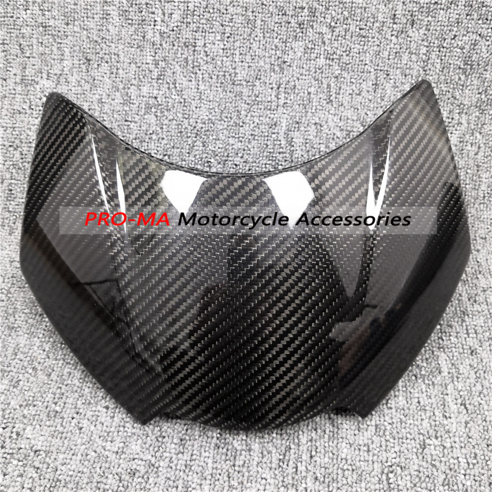 Nose Fairing(headlight Cover) In Carbon Fiber For Triumph Speed Triple 1050R 2016+ Twill 6-27