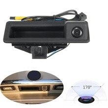 170 Grados HD CCD de Copia de seguridad de Visión Trasera Tronco Mango Cámara de marcha atrás para BMW 3/5/E60 E70 X5 SeriesE90 Coches Modelo a prueba de agua