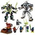 Ninjagoed Marvel Ниндзя Строительные Блоки 79121 Фигурку Модели Кирпич Игрушки Совместимые Legoe