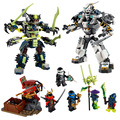 Ninjagoed Marvel Blocos de Construção Ninja 79121 Kits Modelo de Figura de Ação Brinquedos Tijolo Compatível Legoe