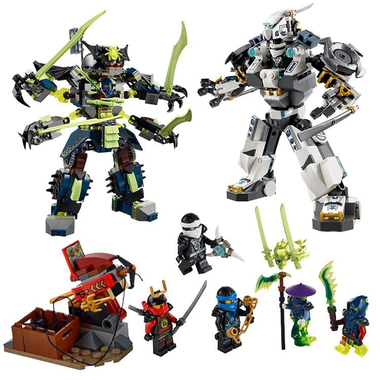 Ninjagoed Marvel Ninja Building Blocks 79121 Action Figure Model Kits Brick Toys Minifigures Compatible font b