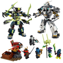 Ninjagoed Marvel Ninja Building Blocks 79121 Action Figure Model Kits Brick Toys Minifigures Compatible Legoe
