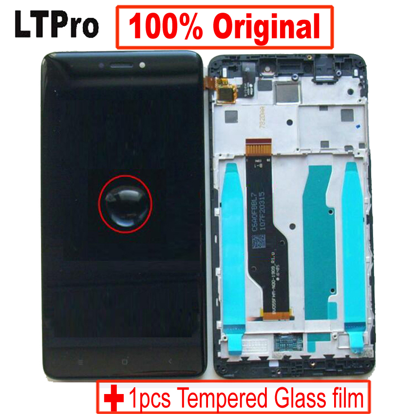 LTPro Original For Xiaomi Redmi Note 4X Note 4 Global Version Snapdragon 625 LCD Screen Display Touch Digitizer Assembly + Frame