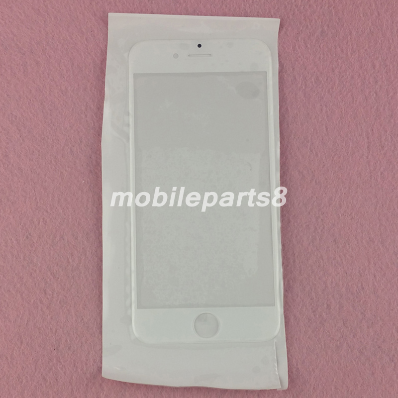 DHL free shipping 100pcs For iphone6 Touch Screen Glass(not digitizer) for iPhone 6 Front Screen Outer Glass Replacement ori