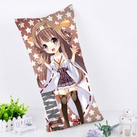 Hobby Express Rectangle Anime Pillow Cushion Case Dakimakura Kantai Collection Cute Chibi Senkan RPC66