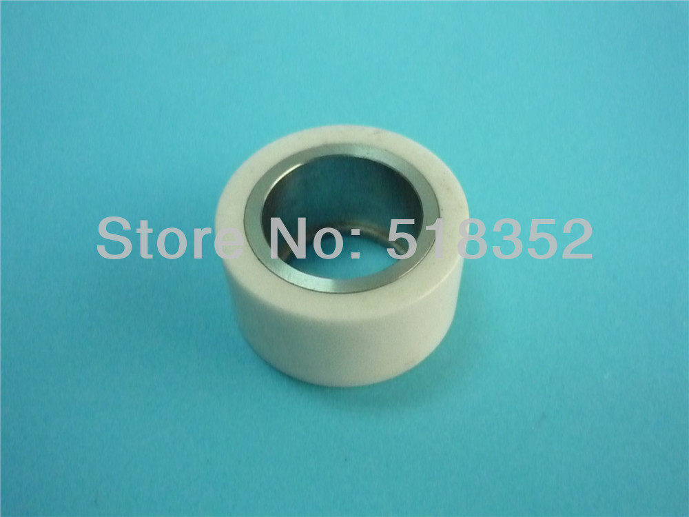 A290-8110-Z382 F401 Fanuc Pinch Roller Ceramic 40x20xT18mm for WEDM-LS Wire Cutting Wear Parts a290 8110 x715 16 17 fanuc f113 diamond wire guide d 0 205 255 305mm for dwc a b c ia ib ic awt wedm ls machine spare parts