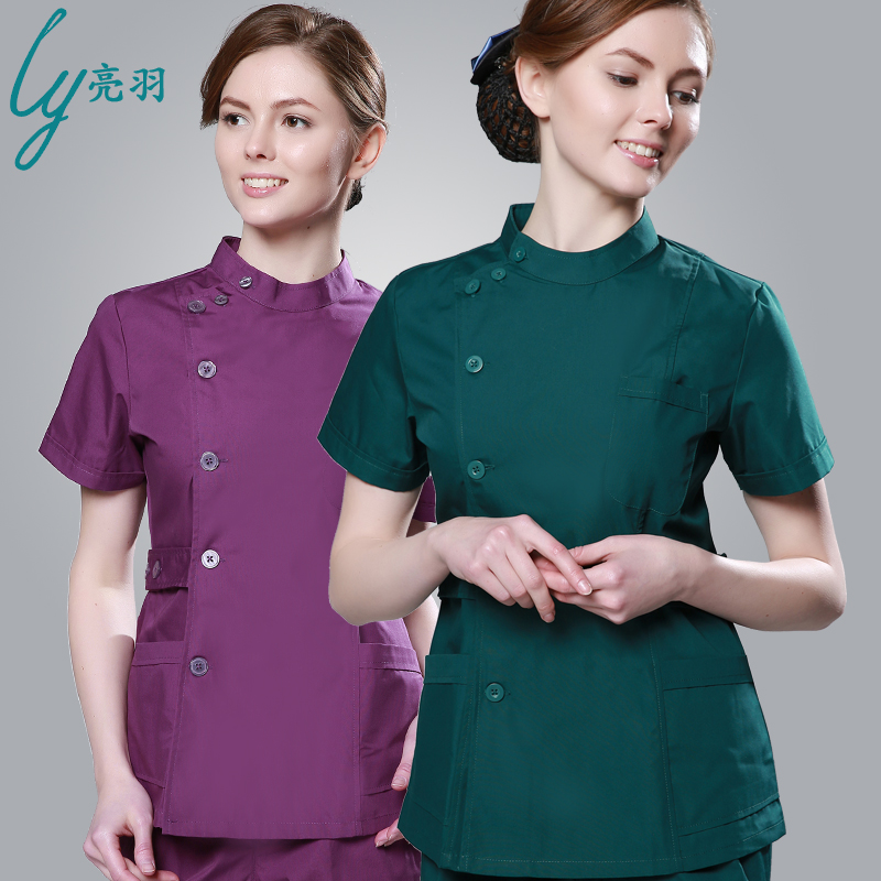 Online buy wholesale design nurse uniform from china for Spa uniform south africa