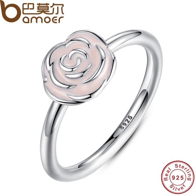 Fine Jewelry Sterling Silver Enamel Stackable Ring bBi89Y