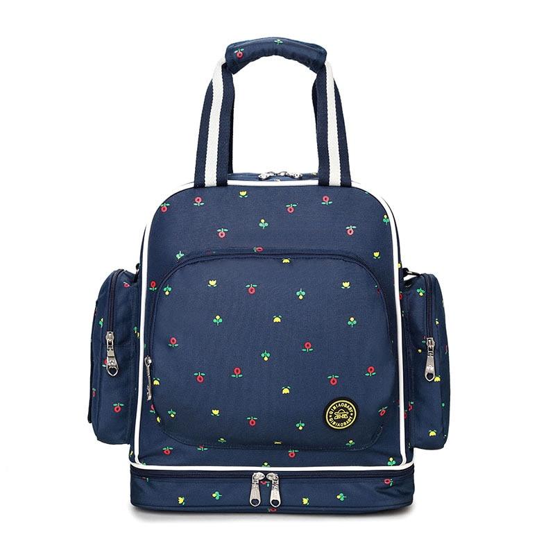 गर्म 300D पनरोक ऑक्सफोर्ड बड़ी क्षमता डायपर बैग माँ मातृत्व लंगोट बैग यात्रा के लिए माँ बैग के लिए बेबी बैग