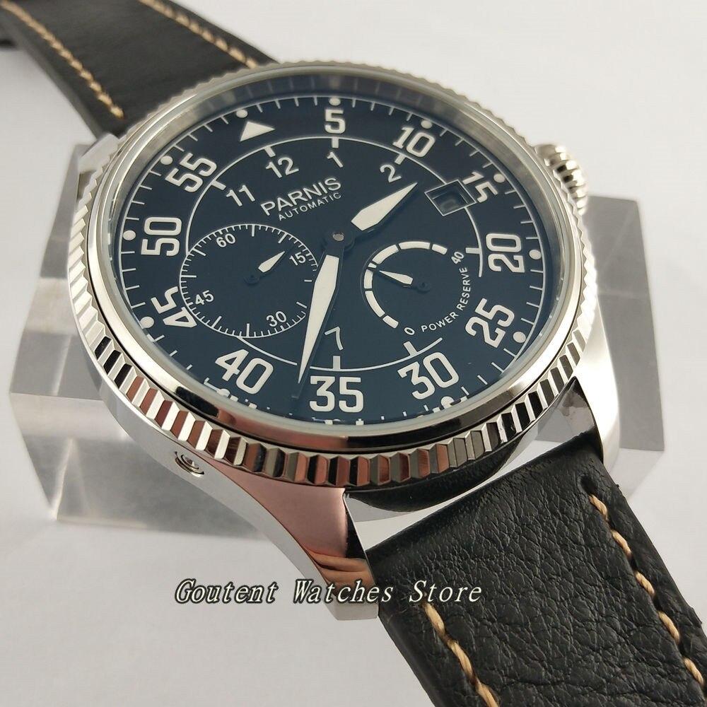 45 ミリメートルパーニスダイヤルパワーリザーブ ST2530 自動メンズ腕時計  グループ上の 腕時計 からの 機械式時計 の中 2