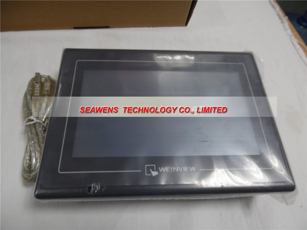 TK8070iH: Weinview Touch Screen 7 inch HMI TK8070iH with programming cable and Chinese software, Fast shipping mt8150ie 15 inch weinview touch screen hmi mt8150ie with programming cable and software replace mt8150i fast shipping