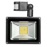 30 Wát 1800LM LED Spotlight PIR An Ninh Motion Sensor Ngoài Trời Không Thấm Nước Đèn Sân Khấu Đèn Pha Ánh Sáng Đèn Trắng Warm Trắng 220 V