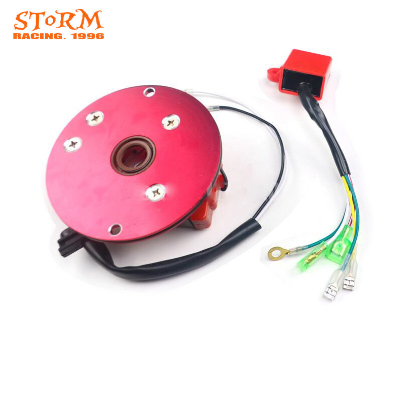 High Performance Racing HP Magneto Coil Stator For 50 125 50cc 125cc Horizontal Engines Thumpstar Parts Pit Bike ATV