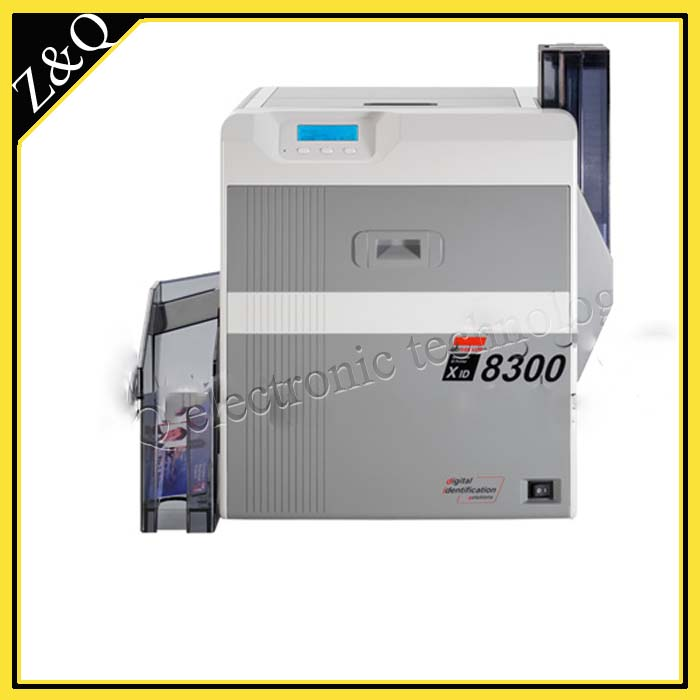 High Quality EDI XID 8300 Retransfer ID/PVC Plastic Card Printer single-sided with one DIC10216 and one DIC10319
