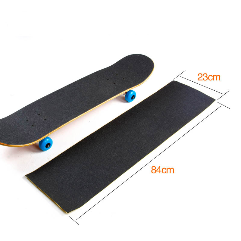 Skateboard Sandpaper Four Wheels Kids Children Toy Accessory Anti Slip 84*23CM