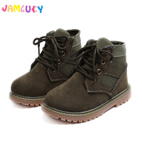 Children S Martin Boots Girls British Style Shoes For Boy 2017 Fall New Children Lace Up