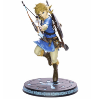 Anime The Legend Of Zelda Action Figure Link Fighting Ver Link Doll PVC Figure Collectible Model