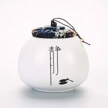Дин чай ткань специальное предложение закрытый ящик для хранения хранения цилиндр керамическая Кунг-Фу чай бутик Pu'er бак доставка