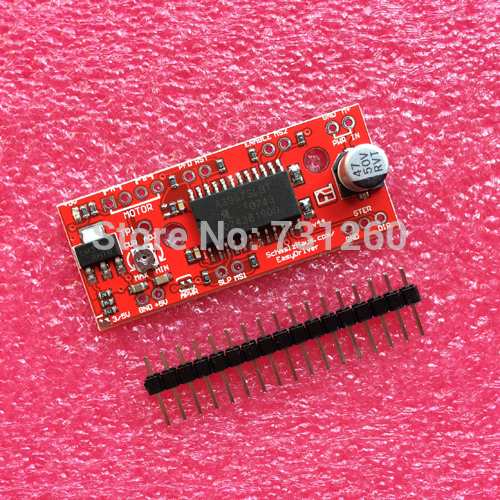 10set/lot A3967 EasyDriver Stepper Motor Driver V44 for arduino development board 3D Printer