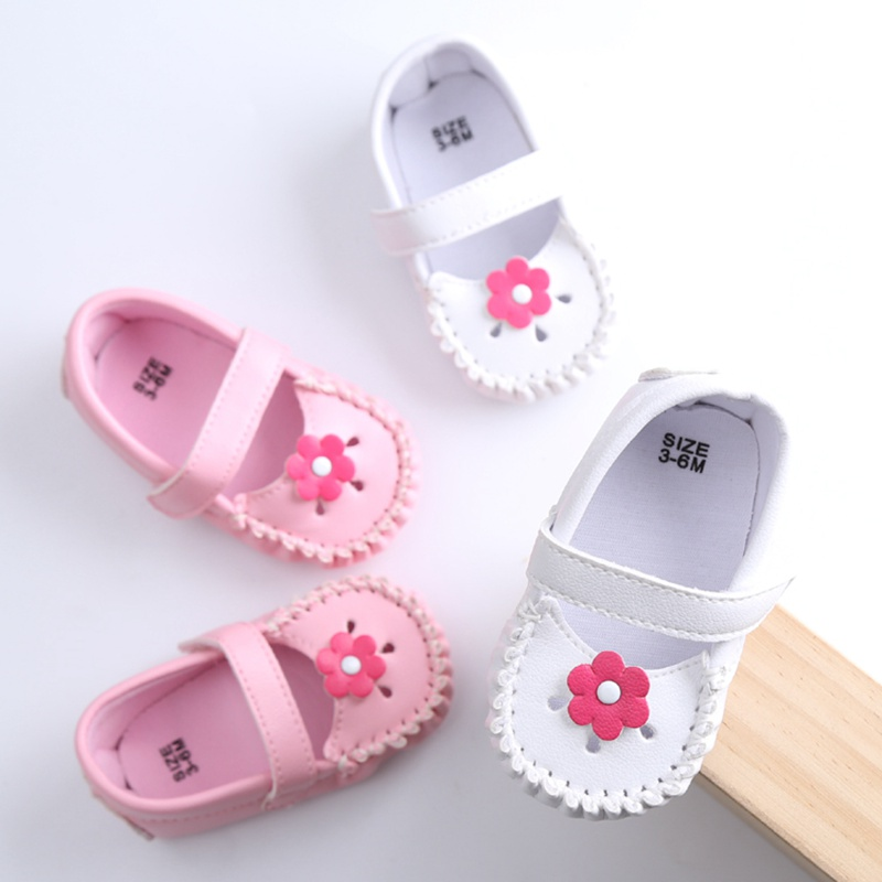 8880aa337dca54 Baby Shoes Leather Moccasin Flower Baby Girl Shoe Soft Sole Infant Toddler  Newborn Baby Shoe Pre-walke size 11 12 13 cm R1010b