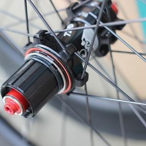"Image 4 - SILVEROCK ألياف الكربون 20 ""451 406 العجلات 24H حافة الفرجار مكبح قرصي لطي الدراجة Minivelo عجلات الدراجة"