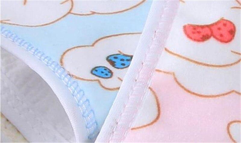babador crianças ultra-macio bib bolso uma variedade de arroz cor