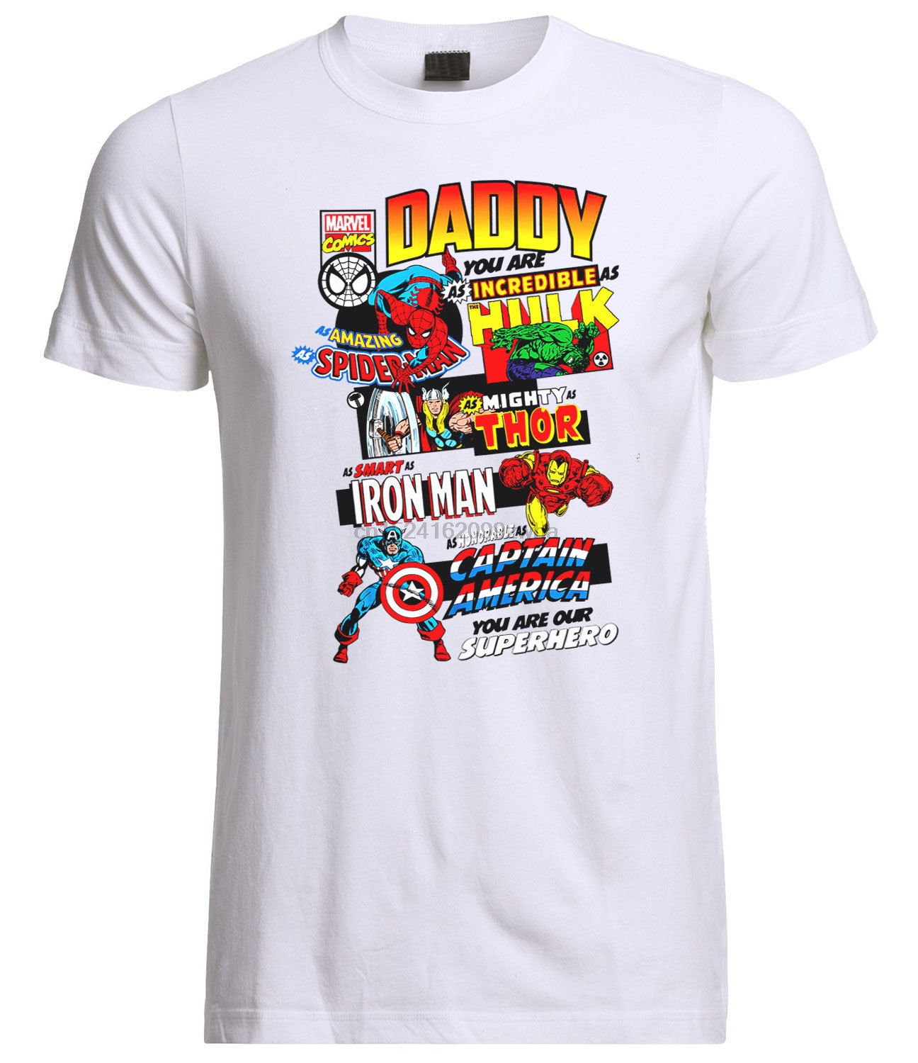 Daddy You Are Our Superhero Fathers Day   T     Shirt